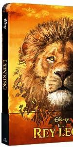 lion king, rey leon, nala, simba, mufasa, scar, disney, steelbook