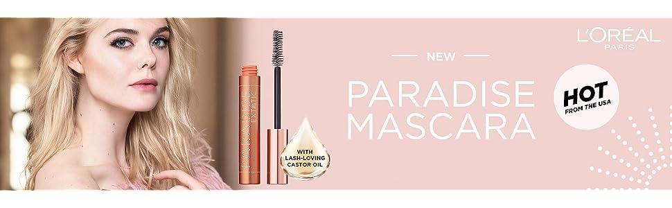 paradise mascara;loreal mascara;l'oreal mascara;loreal paradise;l'oreal paradise;castor oil mascara;