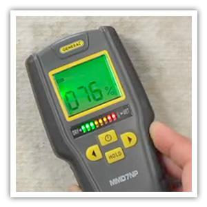 moisture meter, pinless moisture meter, moisture detection, general tools, water damage detection