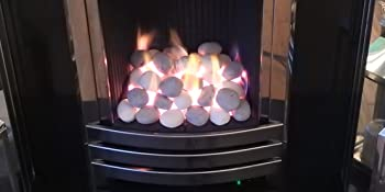 gas fire replacement coals pebbles