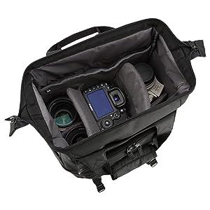 HAKUBA カメラリュック 2気室 がまぐち スウィフト