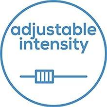 adjustable intensity