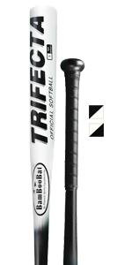bamboobat, softball, softball bat, trifecta, pinnacle sports