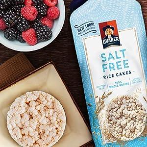 Paquete de variedad de pasteles de arroz sin gluten, 6 ...