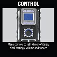 contorl AM FM radio button