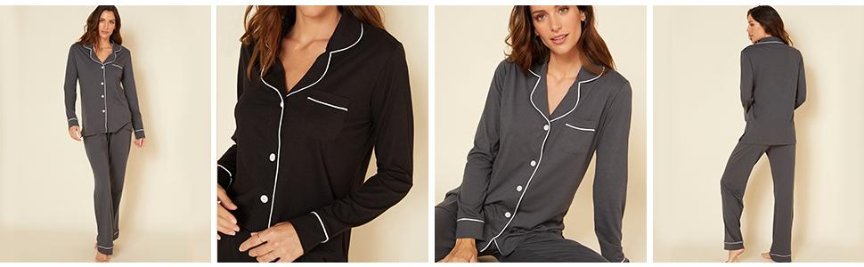 Bella LS amp; Pant Pajama Set