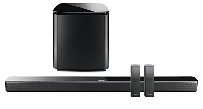 smart speaker, bose, home speakers, alexa, google assistant  Bose 5.1 Home Theater Set (Black): Soundbar 700 + Bass 700 + Surround Speakers a01668f0 941f 4ea5 9533 cc91b7b2563d
