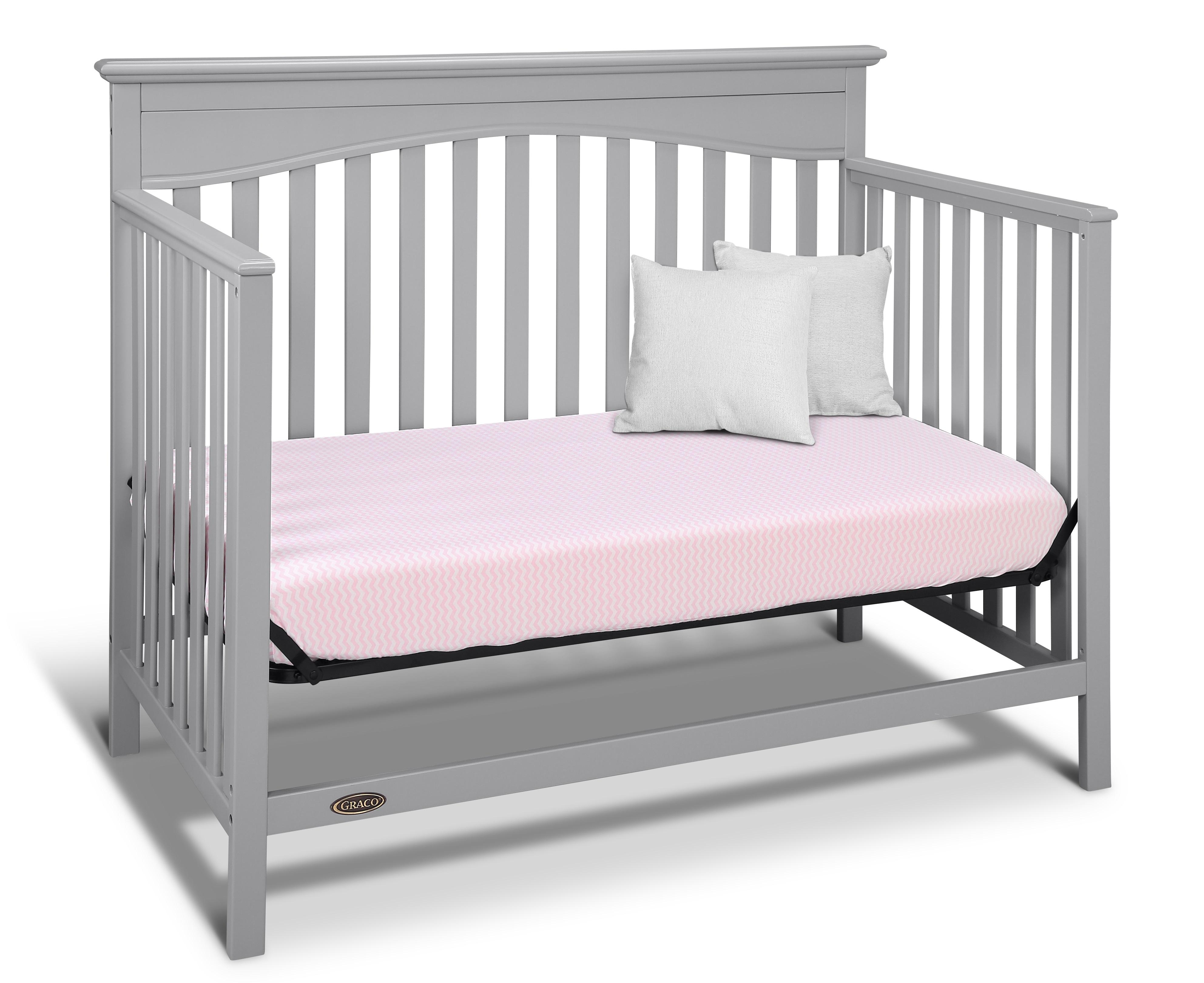 view lauren graco larger com table gray crib cribs changing pebble dp baby signature amazon