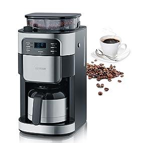 Severin, 4812, cafetera, café, espresso, descafeinado, molinillo