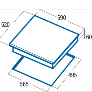 CATA IDB 6003 Pro BK (Negro, Integrado, con Placa de ...