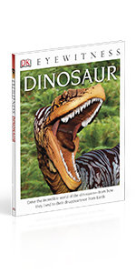 "Front cover for ""DK Eyewitness: Dinosaurs"""