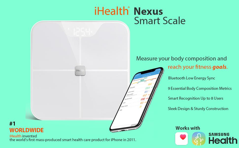 SMART SCALE BODY FAT IHEALTH