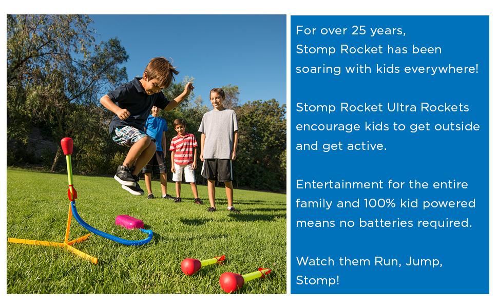 Stomp rocket rocket toy launcher kids rocket toy