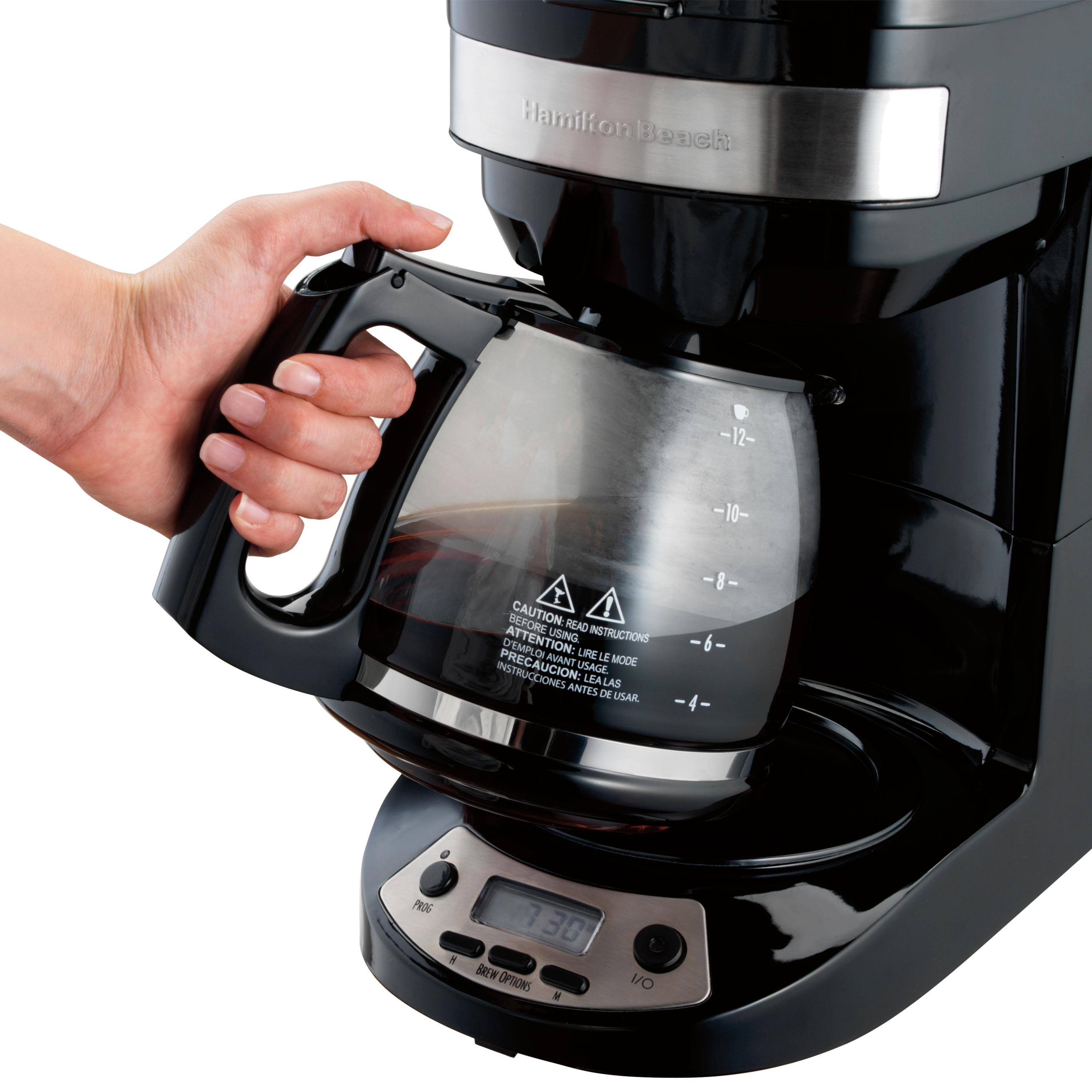 K Cup Coffee Maker Reviews 2012 : Amazon.com: Hamilton Beach 46299 Programmable Coffee Maker ...