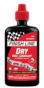 Dry Lube; Finish Line