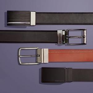 perry ellis belt types