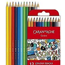 caran dache color pencil