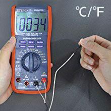 Measures Voltage
