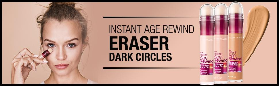 instant, age rewind, eraser, maybelline, instant age, instant age rewind