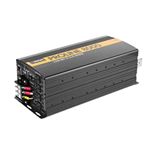 power inverter, power converter, inverter, converter, invertor, DC to AC power, power watts, 8000W