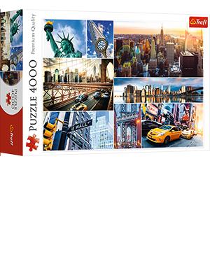 New York 4000 Piece Puzzle Trefl Collage