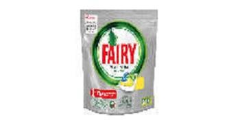 Fairy, Pastillas lavavajillas original limón, 125 cápsulas todo en ...