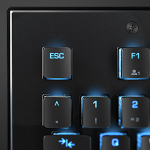 Roccat Vulcan Clavier Gaming mécanique RGB, rétro-éclarage LED AIMO multicolore touche par touche