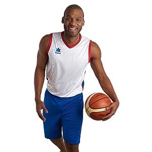 Luanvi Basket Pol Camiseta Deportiva sin Mangas Hombre: Amazon.es: Ropa y accesorios
