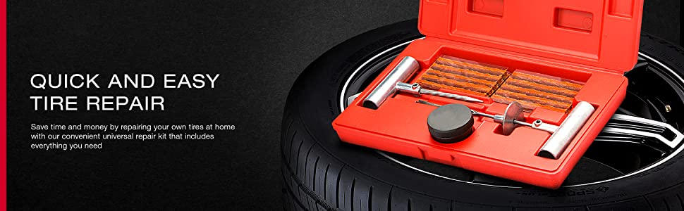 tire repair automotive kit