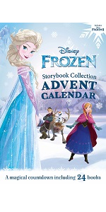 frozen, advent calendar, disney, books