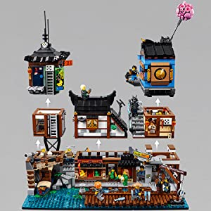 lego, ninjago, porto