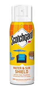Sun, Water, Shield, Scotchgard