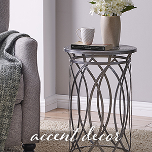 accent table metal