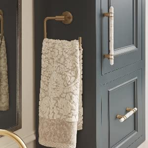 gold towel ring,marble cabinet pulls,amerock carrione collecton,amerock arrondi collection