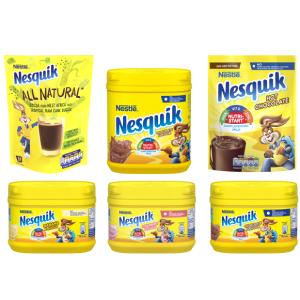 Range of Nesquik