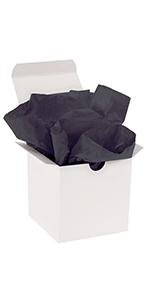 Black Gift Grade Tissue Paper