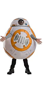 Adult inflatable BB8 Costume