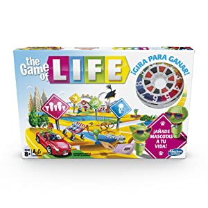 Hasbro Gaming - Juego de mesa Game Of Life (Hasbro E4304105 ...