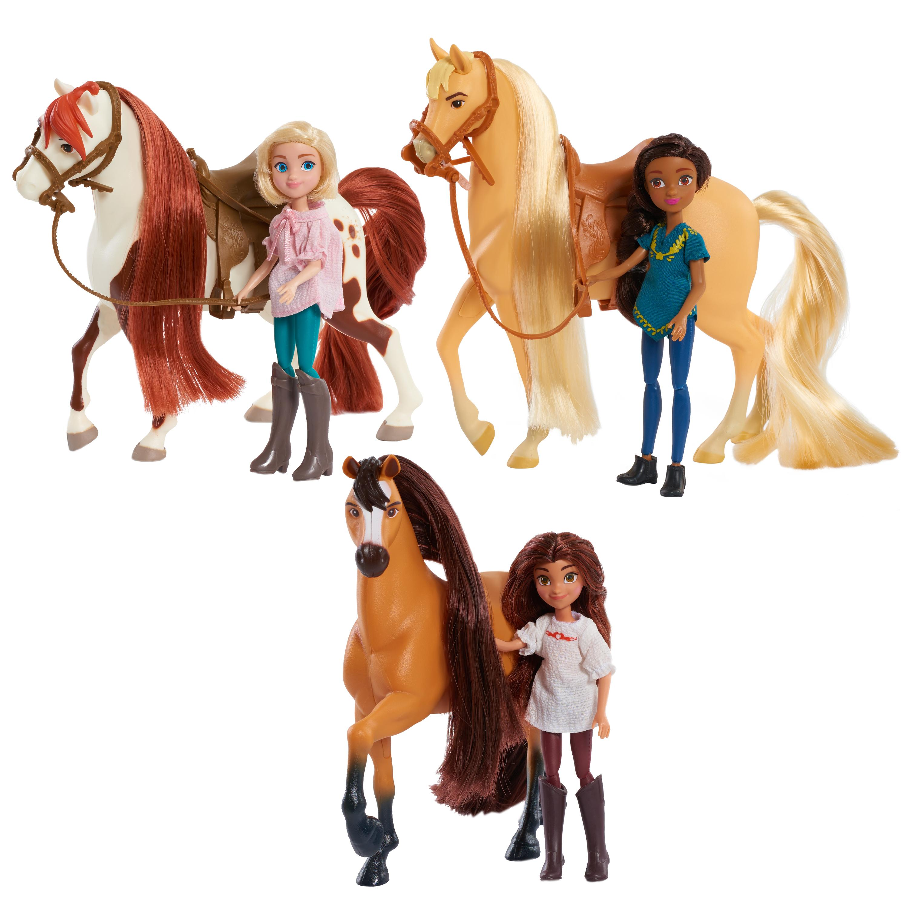Amazon Just Play Spirit Riding Free Small Doll & Collector