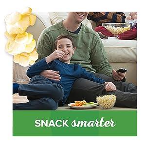 Low calorie popcorn snacks with Orville Redenbacher's SmartPop!