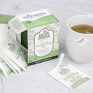 herbal tea, pregnancy safe, caffeine-free, anxiety, calming, promote sleep, chamomile, lemon balm