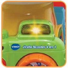 VTech Jirafa Scooter 4 en 1, andador evolutivo con actividades que ...