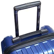 delsey paris luggage titanium international carryon front pocket