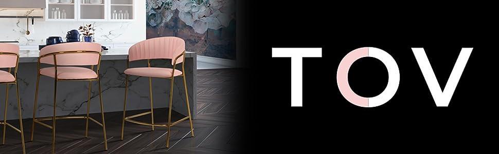 Amazon.com: TOV Muebles el Camden Collection Contemporáneo ...