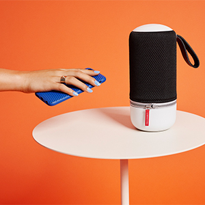 Libratone Zipp Mini 2 Smart Wireless Kleiner Lautsprecher Alexa Integration Airplay 2 Multiroom 360 Sound Wlan Bluetooth Spotify Connect 12 Std Akku Frosty Grey Audio Hifi