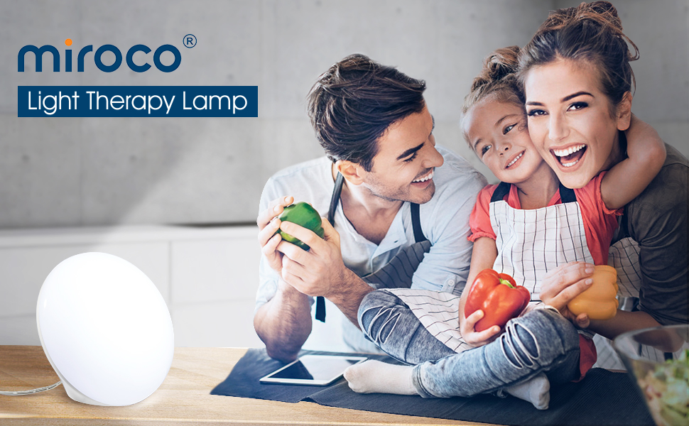 LED Light Therapy Lamp