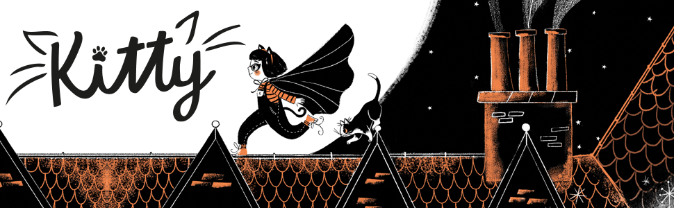 Kitty and the Moonlight Rescue: Amazon.co.uk: Harrison, Paula, Løvlie,  Jenny: Books