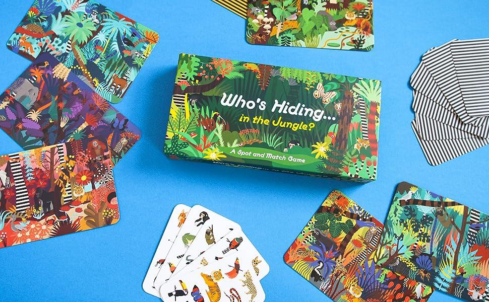 Who's Hiding... in the Jungle?