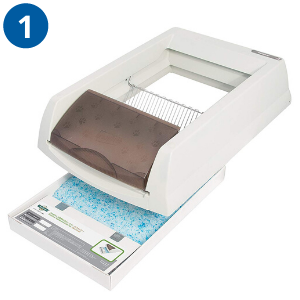 ScoopFree Automatic Litter Tray_How  It Works