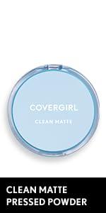 Clean Matte Pressed Powder